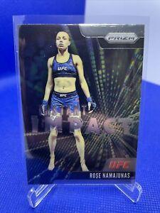 2021 Panini Prizm UFC Instant Impact #16 Rose Namajunas Insert