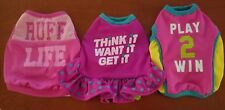 set of 3 dog T shirts for pets size XS new with tags!  Chihuahua yorkie