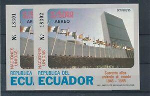 [33006] Ecuador 1985 Flags Good sheet 2x Very Fine MNH