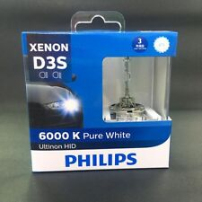 Genuine PHILIPS D3S HID 6000K 42403 Headlight Bulb 2 Pcs Made in GERMANY #Agn