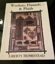 Wool Flannels & Plaids The Scrapbook embroidery quilt patterns Liberty Homestead