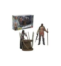 McFarlane Walking Dead TV Deluxe Morgan et Zombie empalé