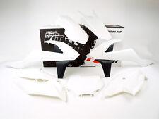 Racetech Plastik Komplett Kit Satz Teile weiss KTM EXC EXF 250 350 450 2017