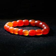 Antique Mizoram Carnelian Beads Bracelet
