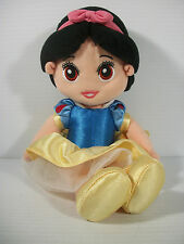 "Mattel Fisher Price Disney Princess Snow White Soft Plush 12"" Doll 2002"