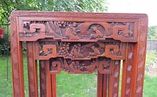 Set of Antique Asian Hand Carved Chinese Nesting Tables