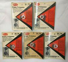 Vintage Lee Case Trimmer Pilot & Shell Holder 9mm Luger 380 Auto 38 Spcl ACP S&W