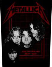 Metallica official Backpatch Bang That Cabeza does not PARCHE DE ESPALDA