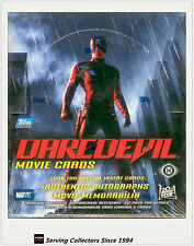 2003 Topps Daredevil Movie Trading Card Factory Box (36 Packs)- Signature Card
