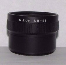 Nikon UR-E5 Stepdown Ring Lens Adapter WC-E68 Wide Angle Converter Coolpix 5000