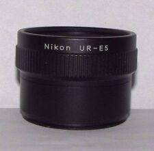 Nikon UR-E5 Stepdown Ring Lens Adapter WC-E68 Wide Angle Converter Coolpix 5000