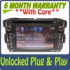 Unlocked GM CHEVY Radio Navigation GPS Display Screen XM AUX USB DVD Player