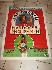"""MANIFESTO,1971,JOE COCKER E I  """"Mad Dogs & Englishmen"""" ,LEON RUSSEL,C.STAINTON"""