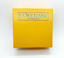 "L'Occitane En Provence Yellow Small Empty Gift Box 7.25"" x 7 7/8"" x 3 1/8"""