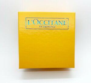 "L'Occitane En ProvenceYellow Small Empty Gift Box 5"" x 5"" x 3 """