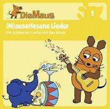 DIE SENDUNG MIT DER MAUS CD1  (CD)  22 TRACKS KINDERHÖRSPIEL  NEU