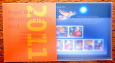 GB Royal Mail 2011 M/Sheets Complete Collection Presentation Pack FP4502
