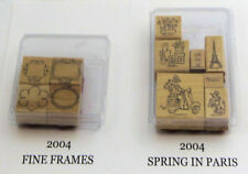 Stampin Up Retired Stamp Collection Lot Mostly Complete and Incomplete Sets New