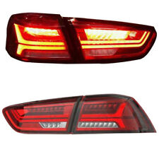 New LED Tail Lights For 2008-2017 Mitsubishi Lancer/Evo X LED Rear Brake Lamps