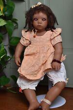 """Annette Himstedt doll """"Keri� 1998- 24� Signed By Annette Himstedt"""