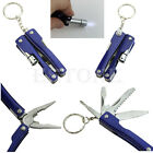 Portable 9 In 1 Multi Stainless Plier Outdoor Pocket Steel Tool Mini Camping Kit