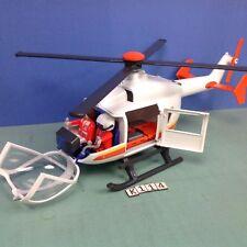 (K114) playmobil Hélicoptère médical ref 6686