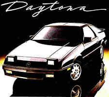 1987 DODGE DAYTONA BROCHURE -DODGE DAYTONA SHELBY Z TURBO-DAYTONA PACIFICA-DODGE