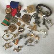 men's military  Metals And Other Mens Jewelry Lot