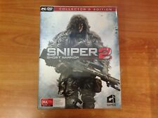 PC Game Sniper 2 Ghost Warrior Collectors Edition - New & Sealed