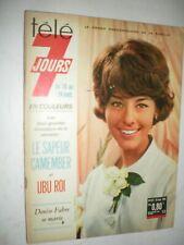 TELE 7 JOURS n° 287 - Denise FABRE - AVERTY - UBU ROI - septembre 1965 -