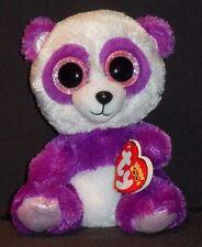 TY BEANIE BOOS - BOOM BOOM the PANDA BEAR - MINT with MINT TAG