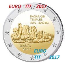 2 €  MALTE COMMEMO RARE  350 000  ex  TEMPLE  ! NOUVEAU  2017 /  2017 disponible