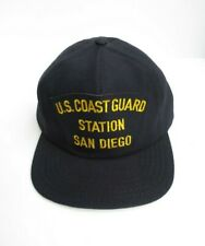Vintage Coast Guard Uscg Station San Diego Snap Back Hat Made In Usa Mint