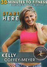 30 MINUTES TO FITNESS: START HERE (Kelly Coffey-Meyer) - DVD - Region Free