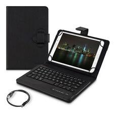 "Kwmobile funda protectora para tablet 7-8"" negro Keyboard Bluetooth piel sintética para"