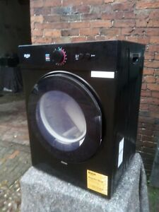 NEW GRADED BUSH BLACK MINI 3 KG VENTED TUMBLE DRYER  - UK DELIVERY