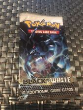 POKEMON BLACK AND WHITE TRADING CARD GAME BOOSTER PACK 10 CARDS SEALED