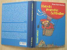 HATSCHI BRATSCHIS LUFTBALLON~Franz Karl Ginzkey~2011 HC~German Children's Book~