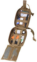 Rip-Away Breakaway EMT Medic Pouch First Aid Molle Tri Fold Coyote Rothco 15976