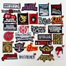 Rock Heavy Metal Punk Band Music Iron On Patches Sew Embroidered DIY
