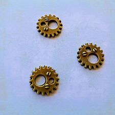 Rustic Sun Gears Steampunk Cogs Pendants Clock Metal Gear Mix 12mm/0.5 5pc Bulk