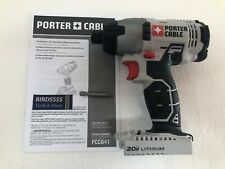 NEW Porter Cable PCC641 20V 20 VOLT MAX 1/4 INCH HEX CORDLESS IMPACT DRIVER