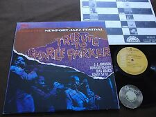 LP Newport Parker Tribute All Stars Tribute To Charlie Parker Japan 1979 | M-