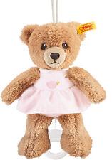STEIFF Schlaf Gut Bär mit Kleid Spieluhr rosa 20 cm  NEU 239540  UVP 42,90 Euro
