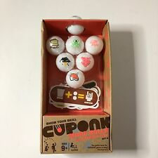NEW Cuponk: More Balls & Stickers Too Set 2 Ping Pong Beer Pong Balls