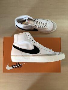 Nike Blazer Mid '77 Vintage Black White Shoes- Size 8 Men's 9.5 Women's New Box
