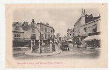 Coronation Stone & Market Place, Kingston Postcard, B108
