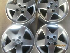ORIGINALE PEUGEOT 207 Cerchioni Set in 6jx15 et23 4x108mm con radschraub 9651016580