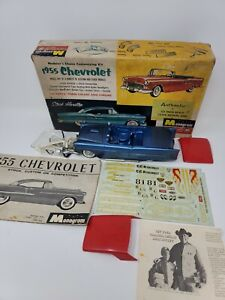 VINTAGE 1955 CHEVROLET MONOGRAM MODEL CAR KIT IN THE BOX STARBIRD JUNKYARD