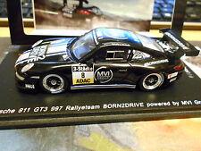 PORSCHE 911 997 GT3 Rallye DRM Schelle Born 2 drive 2015 1/450 NEW Spark 1:43